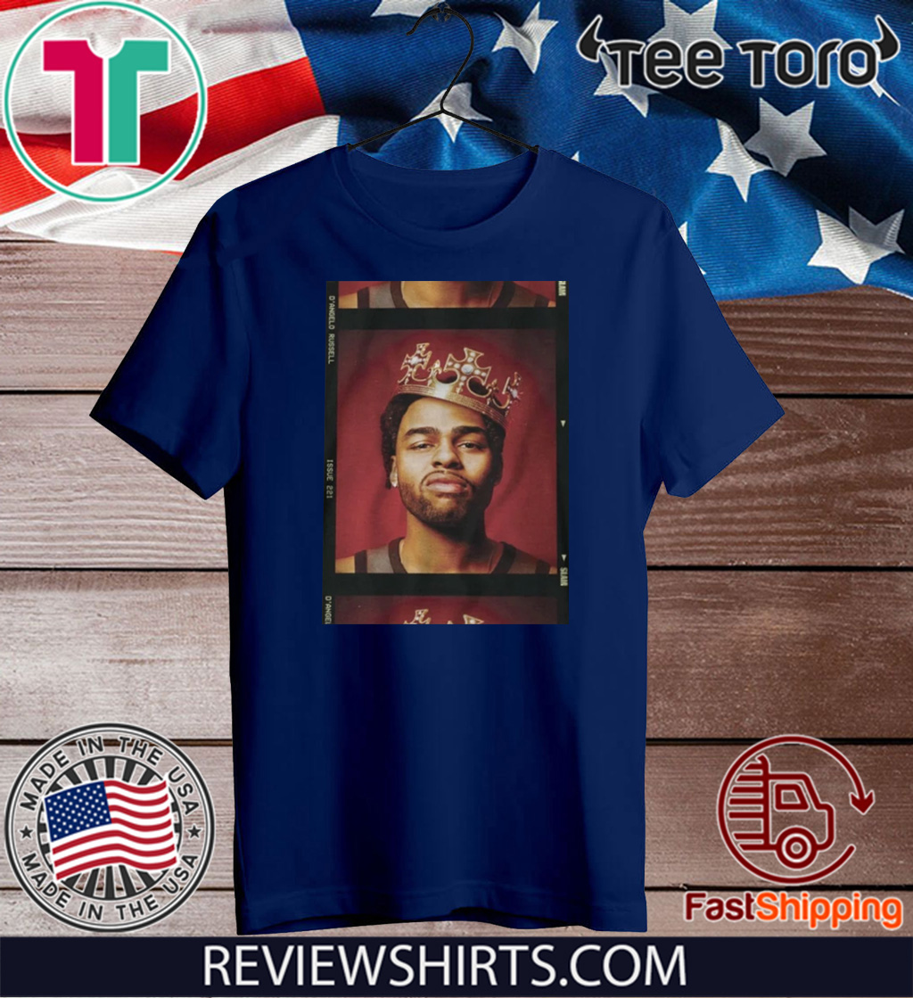 D'ANGELO RUSSELL CROWN FOR T-SHIRT