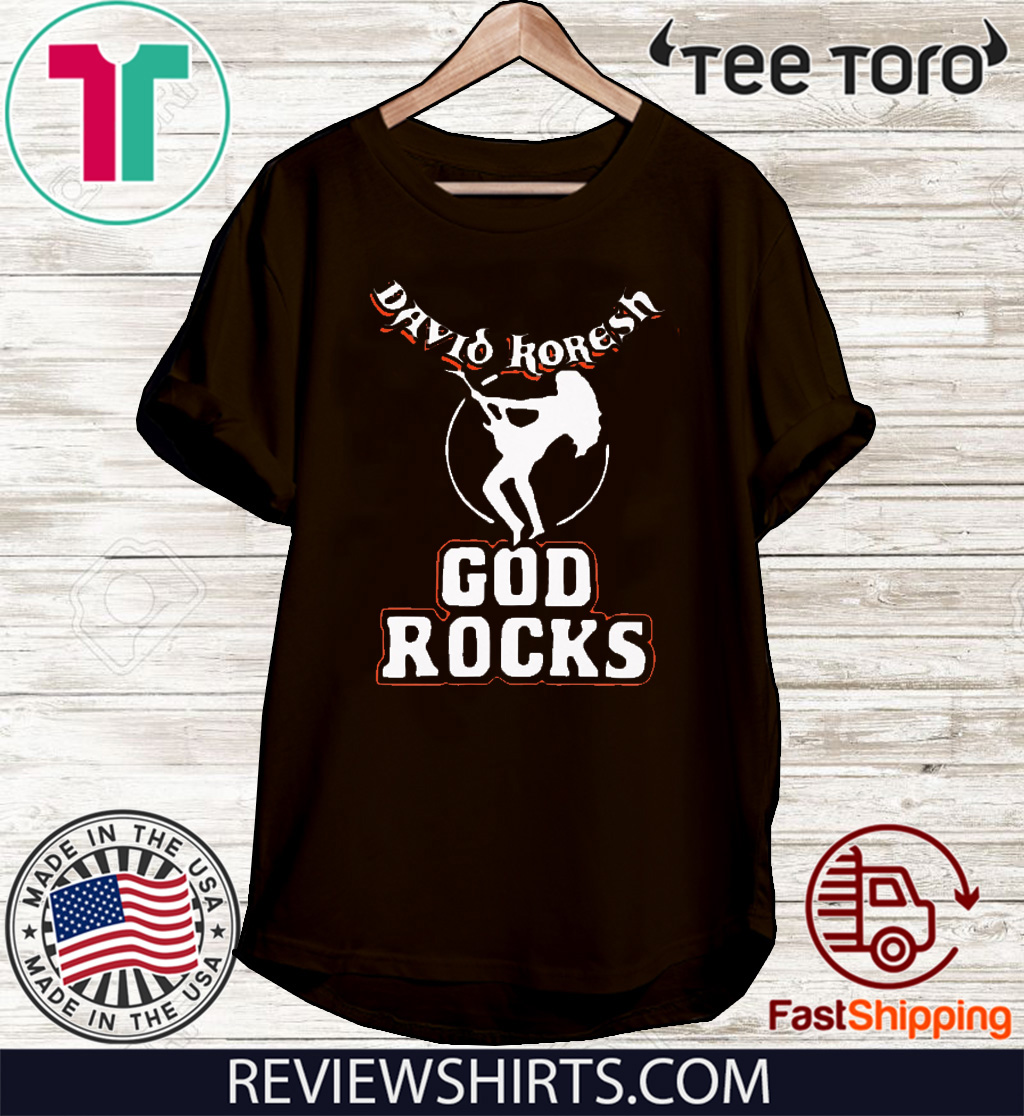 David Koresh God rocks For T-Shirt