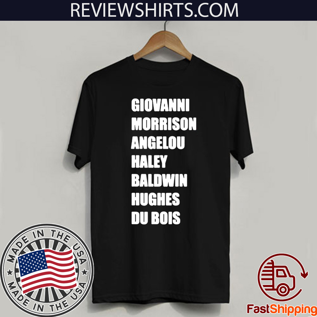 African American Writers Black History t-shirts