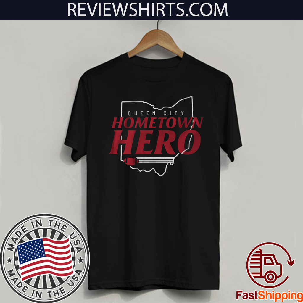 Hometown Hero Shirt - Cincinnati Football T-Shirt