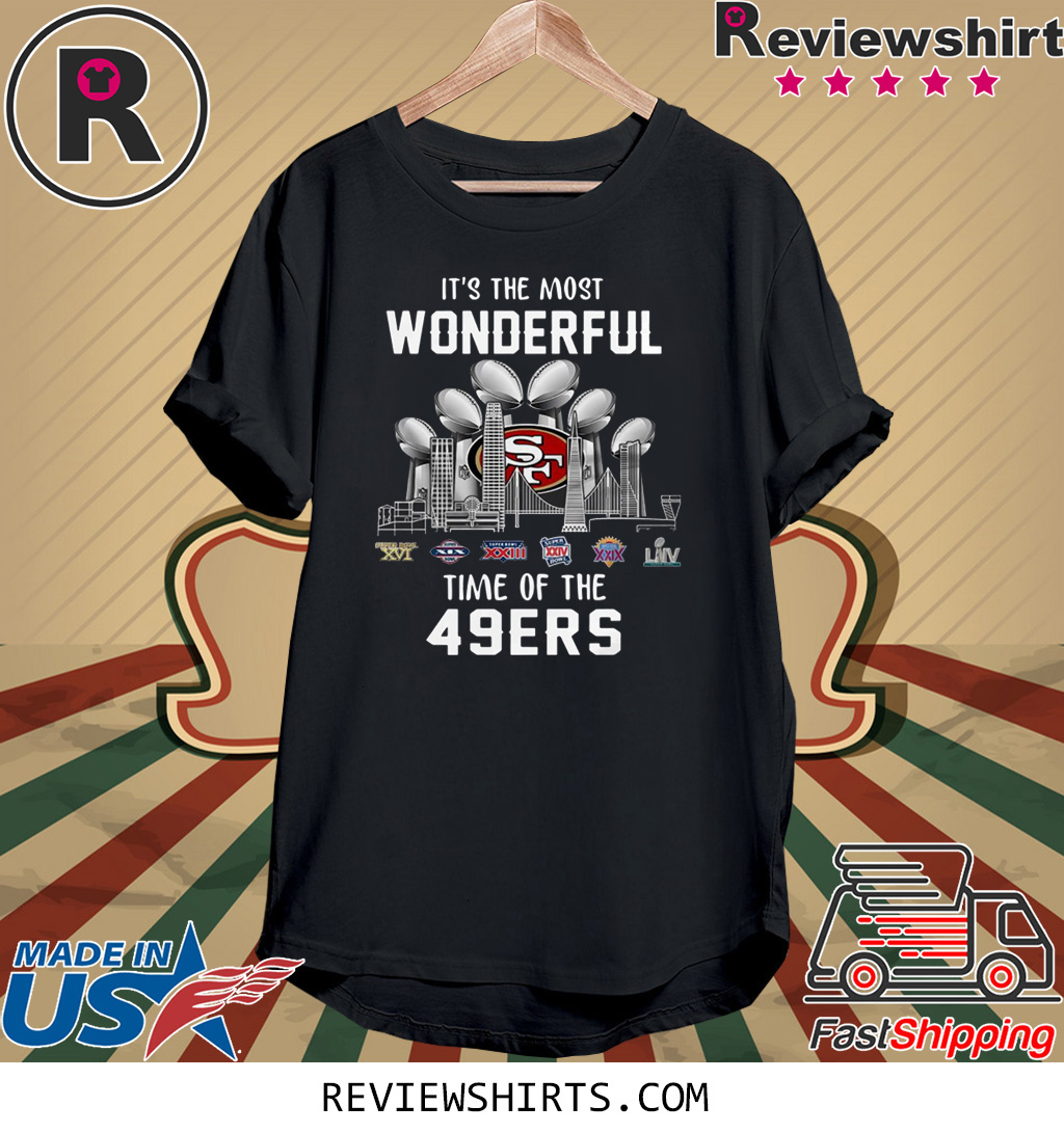 It's the most wonderful time of the 49ers t-shirt
