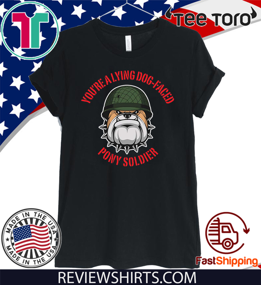 Lying dog-faced pony soldier Classic T-Shirt