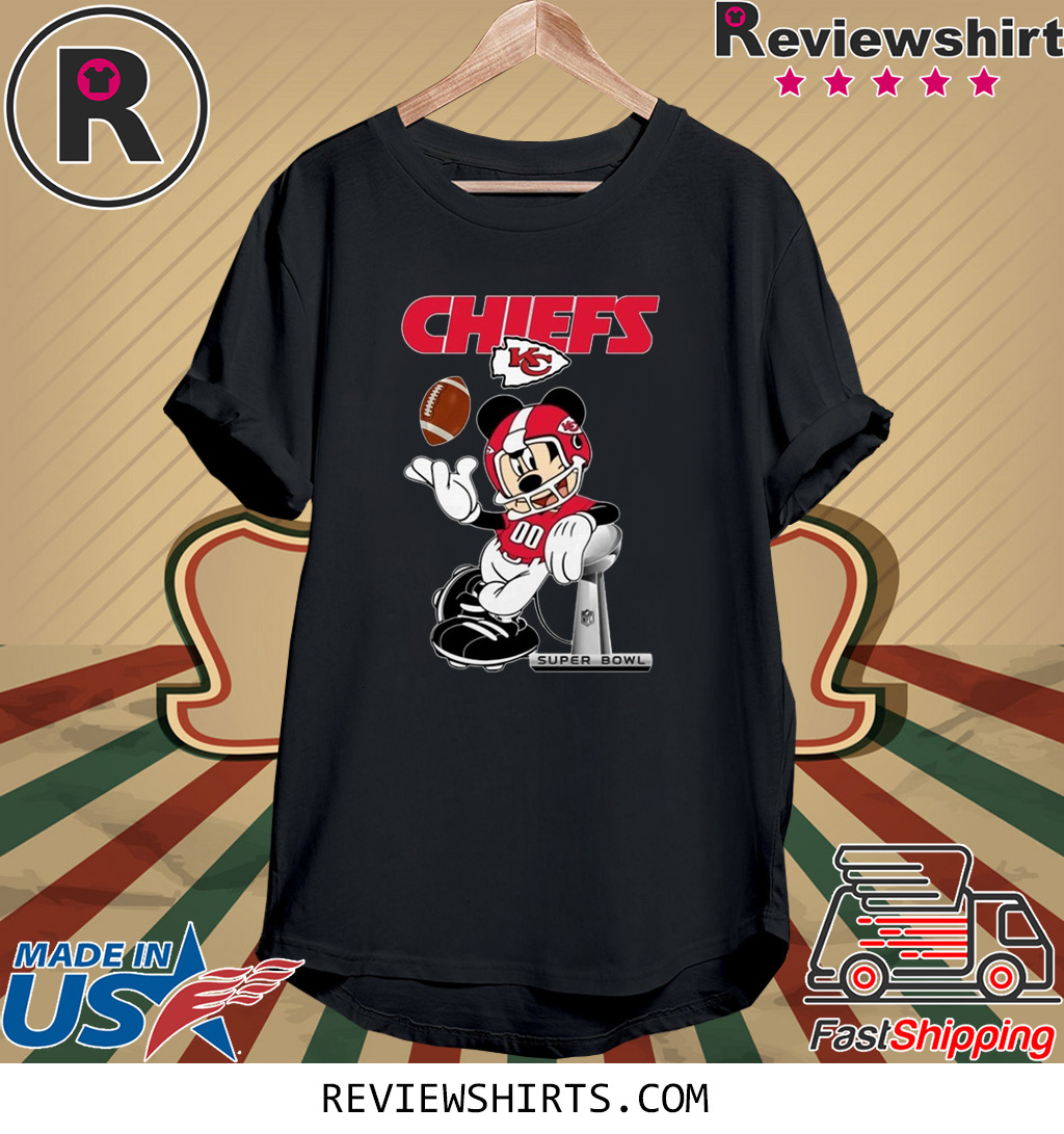 Mickey Kansas City Chiefs Champions 2020 T-Shirt