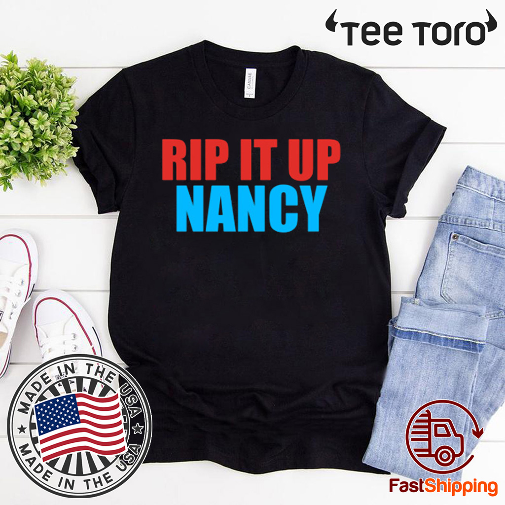 Nancy Pelosi Rips Up Trumps State US T-Shirt