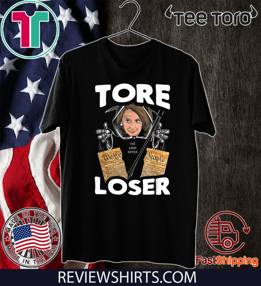 Nancy the Ripper Tore Loser Pelosi Pro Donald Trump 2020 T-Shirt