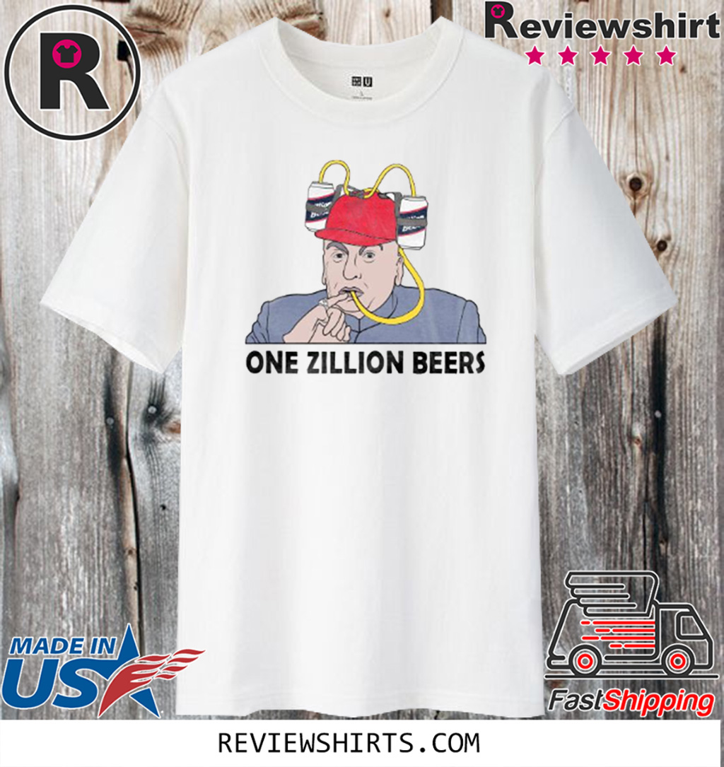 ONE ZILLION BEERS TEE SHIRT