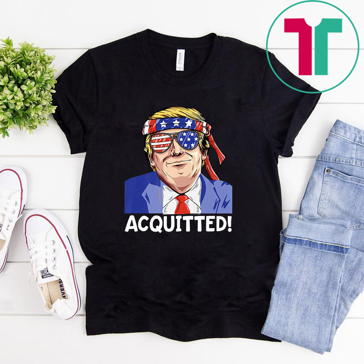President Trump Acquitted Pro Republican T-Shirt
