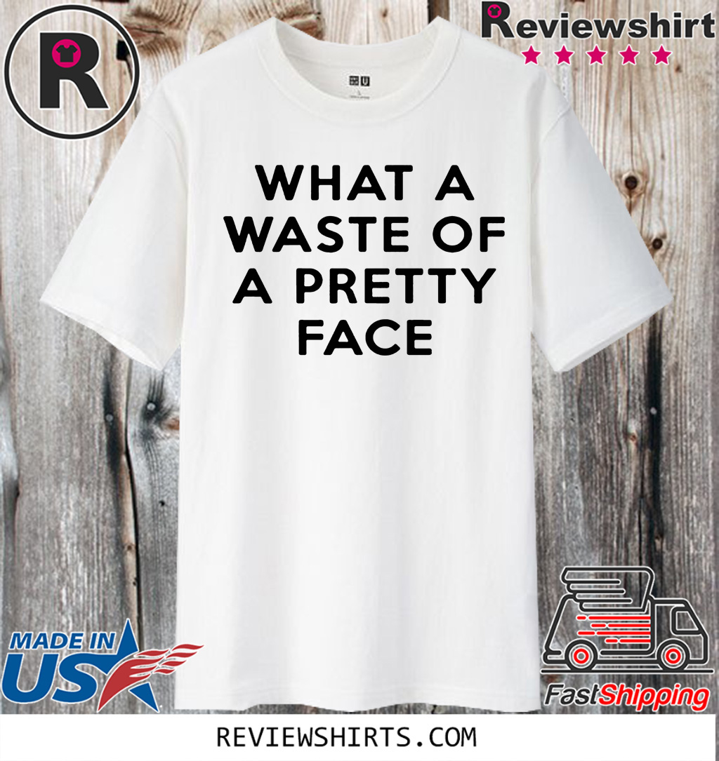 Rolling Stone What A Waste Of A Pretty Face Shirt T-Shirt