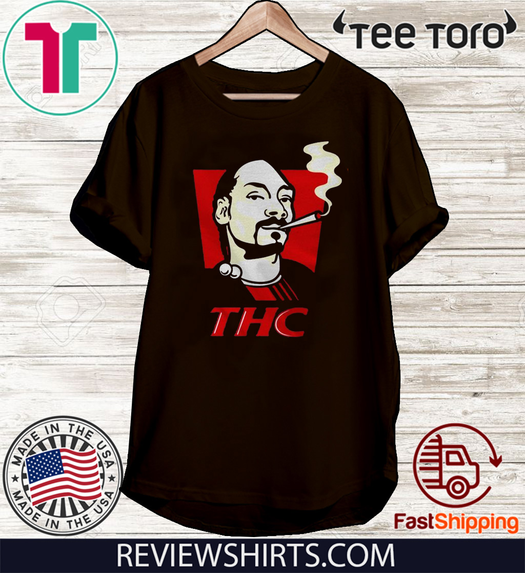 Snoop Dog smokes THC Tee Shirt