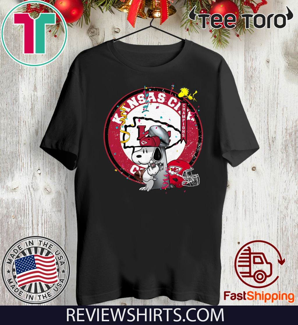 Soppy Kansas City Chiefs Super Bowl Champions Funny T-Shirt