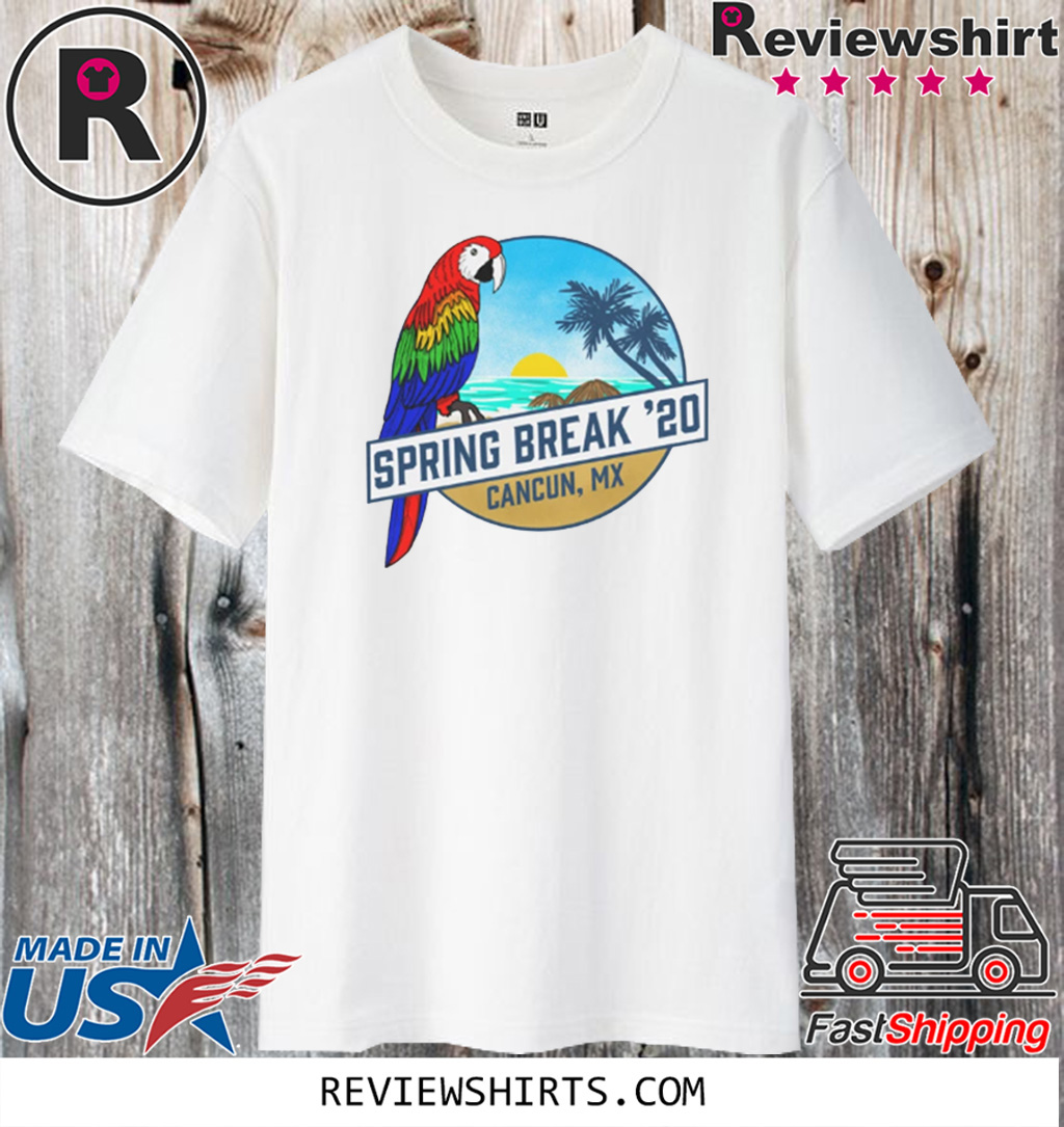 Spring Break 2020 Cancun Tank T-Shirt