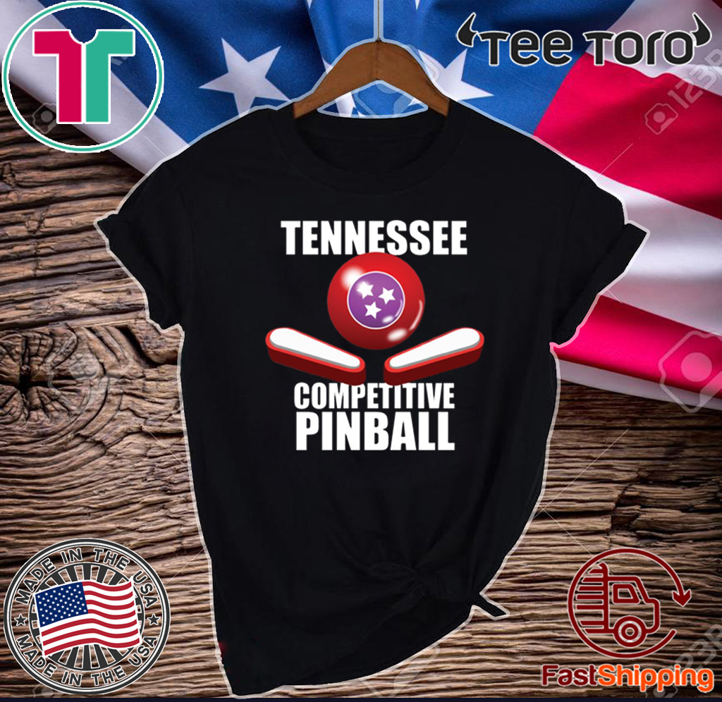 Tennessee Competitive Pinball Tee Shirt