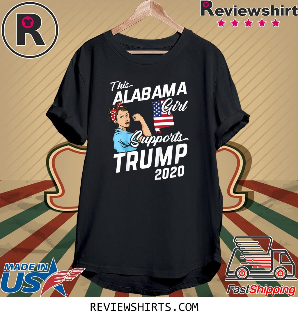 This Alaskan Girl Supports Trump 2020 Tee Shirt