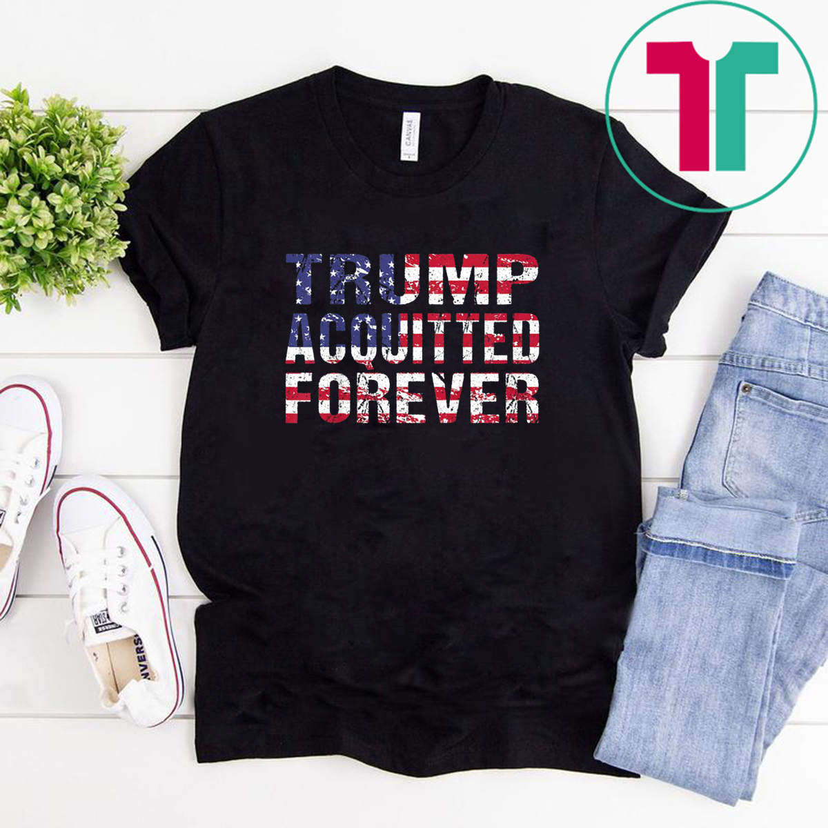 Trump Acquitted Forever Re-Elect President Trump Shirt