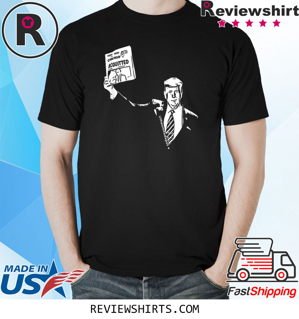 Trump Acquitted USA Today Shirt