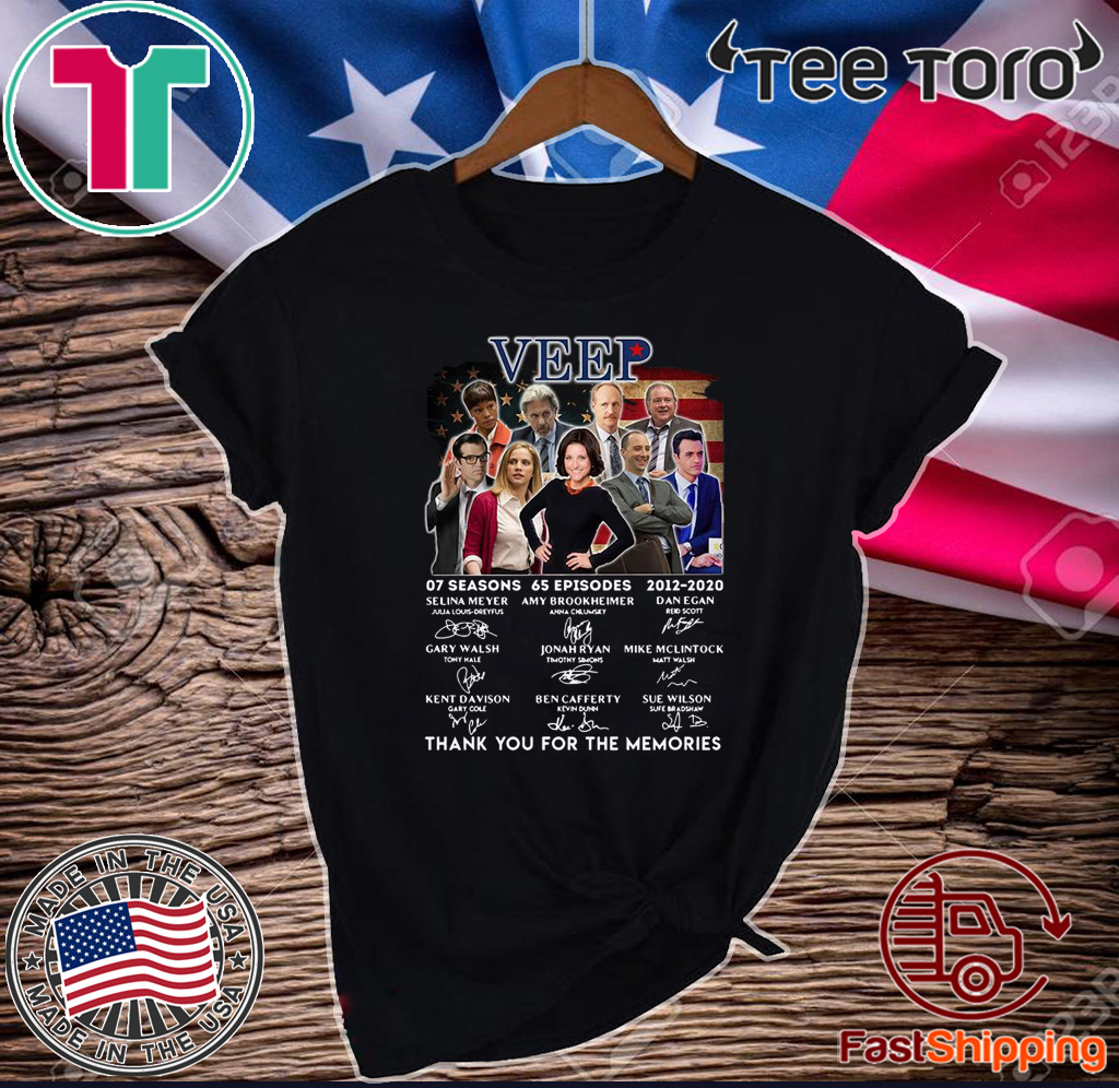Veep Characters Thank You For The Memories Shirt T-Shirt