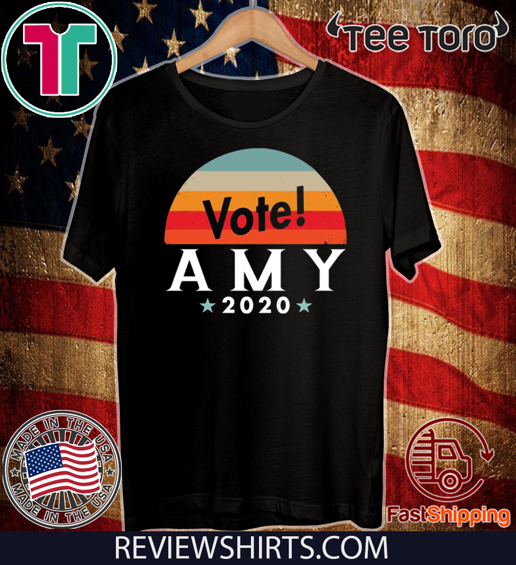 Vote Amy Klobuchar 2020 Tee Shirt