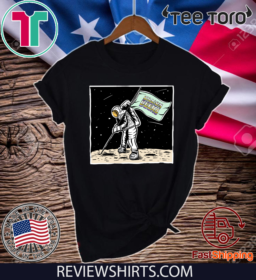 Zillion Beers Moon Man Tee Shirt