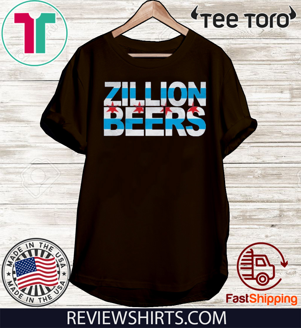 Zillion Beers CHI Flag T ShirtZillion Beers CHI Flag T Shirt