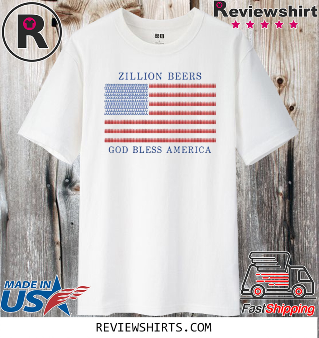 Zillion Beers America Pocket T-Shirt