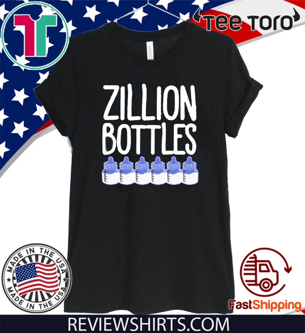 Zillion Bottles Onesie Shirt T-Shirt