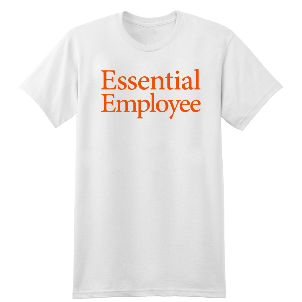 Where To Buy Essential Employee T-Shirt