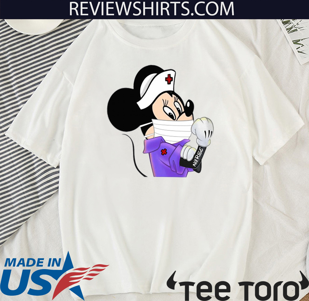 Strong Minnie Mouse Nurse For T-Shirt